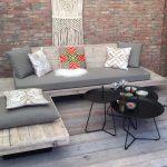 Easy Loungebank – Steigerhout- Metaal – Industrieel design