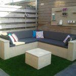 Steigerhouten Hoekbank – Loungeset – Doe het zelf – Bouwpakket hoekbank – Buitenwerks 220x270cm