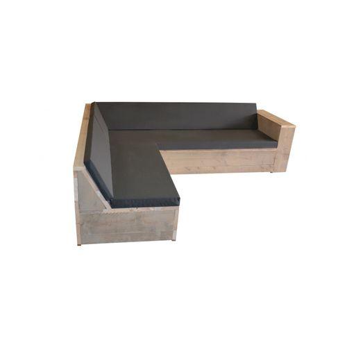 Wood4you loungeset One steigerhout 2x2,5m