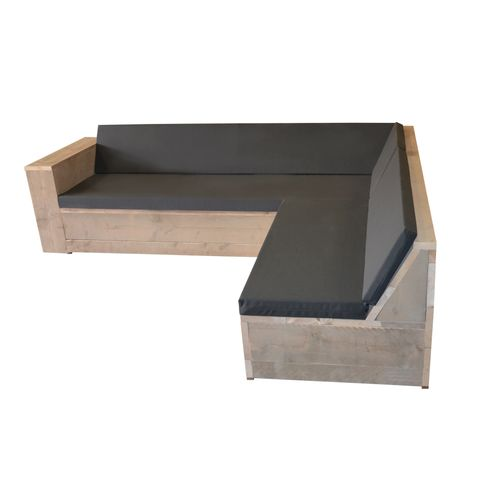 Wood4you loungeset One steigerhout 2x2m