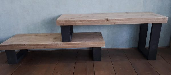 Gewoonsophie - Tv-meubel - Steigerhout - Bruin