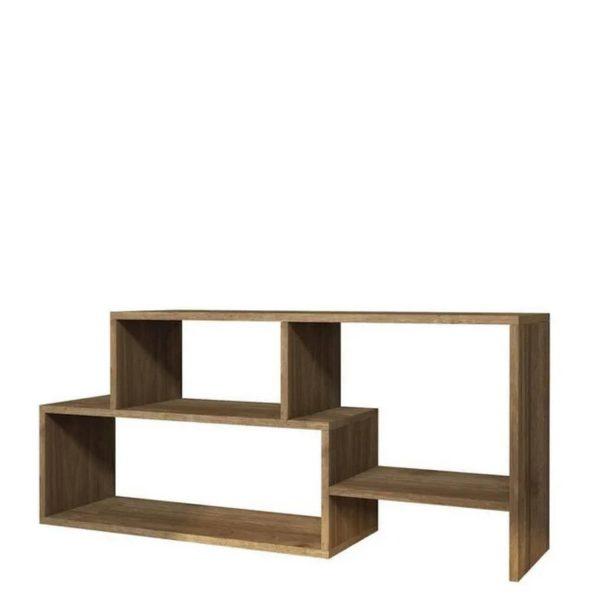Homemania Tv-meubel Clover 121,8x29,5x53,8 Cm Walnootkleurig