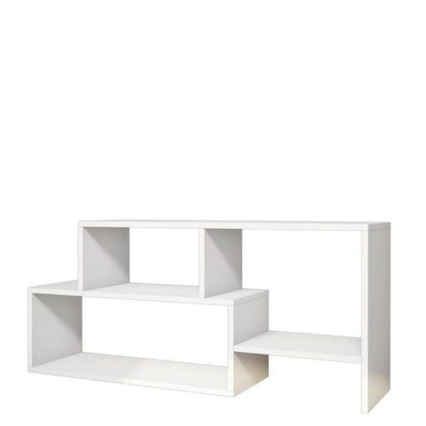 Homemania Tv-meubel Clover 121,8x29,5x53,8 Cm Wit