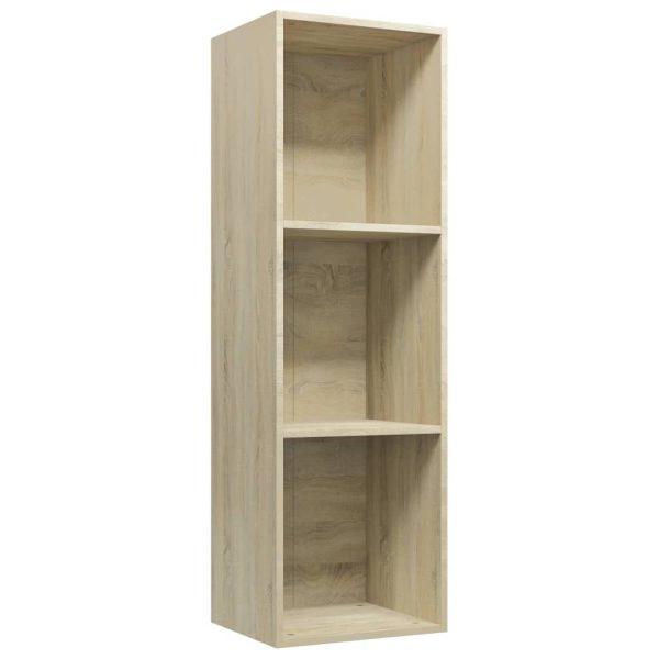 Vidaxl Boekenkast/tv-meubel 36x30x114 Cm Spaanplaat Sonoma Eikenkleur