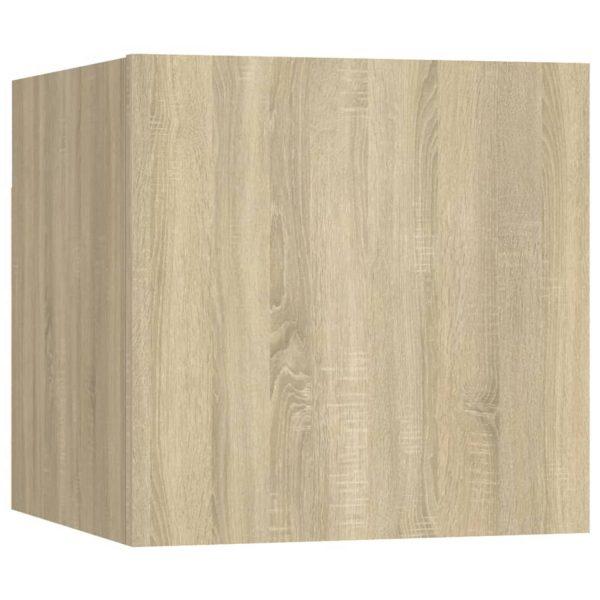 Vidaxl Nachtkastje 30,5x30x30 Cm Spaanplaat Sonoma Eikenkleurig