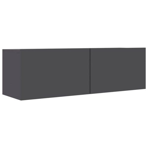 Vidaxl Tv-meubel 100x30x30 Cm Spaanplaat Grijs