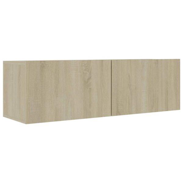 Vidaxl Tv-meubel 100x30x30 Cm Spaanplaat Sonoma Eikenkleurig