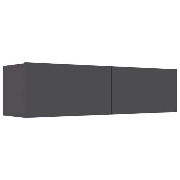 Vidaxl Tv-meubel 120x30x30 Cm Spaanplaat Grijs