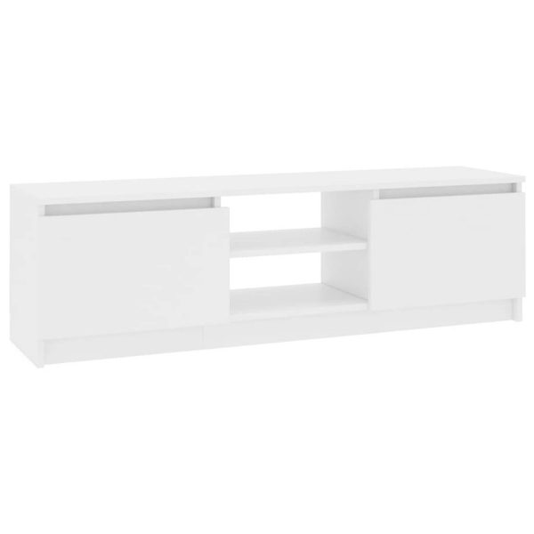 Vidaxl Tv-meubel 120x30x35,5 Cm Spaanplaat Wit