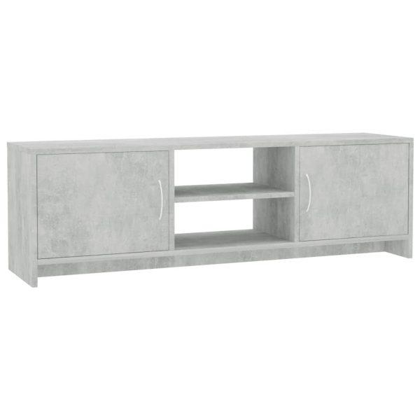 Vidaxl Tv-meubel 120x30x37,5 Cm Spaanplaat Betongrijs