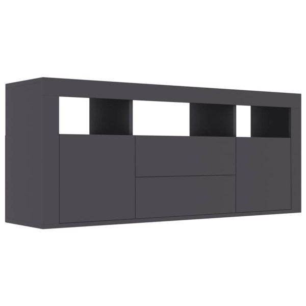 Vidaxl Tv-meubel 120x30x50 Cm Spaanplaat Grijs