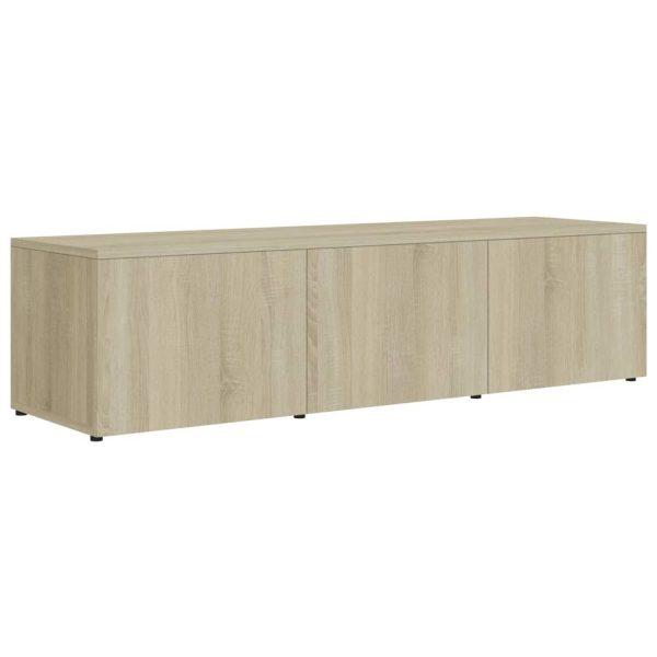 Vidaxl Tv-meubel 120x34x30 Cm Spaanplaat Sonoma Eikenkleurig