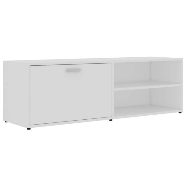Vidaxl Tv-meubel 120x34x37 Cm Spaanplaat Wit