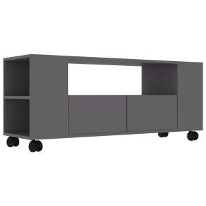 Vidaxl Tv-meubel 120x35x43 Cm Spaanplaat Grijs