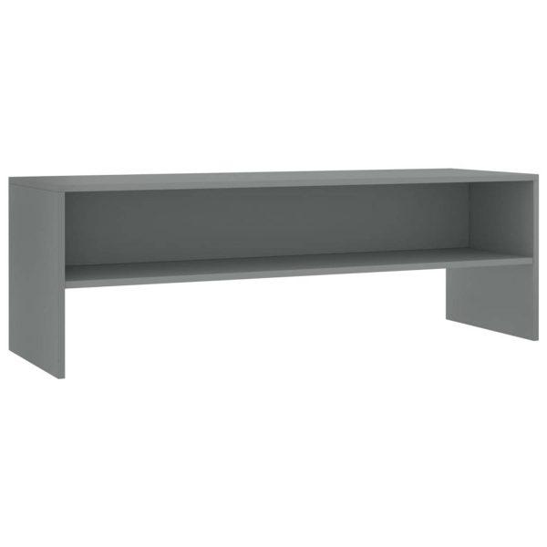 Vidaxl Tv-meubel 120x40x40 Cm Spaanplaat Grijs
