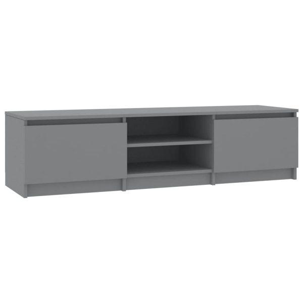 Vidaxl Tv-meubel 140x40x35,5 Cm Spaanplaat Grijs
