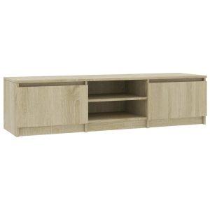 Vidaxl Tv-meubel 140x40x35,5 Cm Spaanplaat Sonoma Eikenkleurig