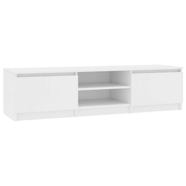Vidaxl Tv-meubel 140x40x35,5 Cm Spaanplaat Wit