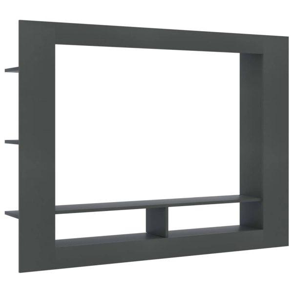 Vidaxl Tv-meubel 152x22x113 Cm Spaanplaat Grijs