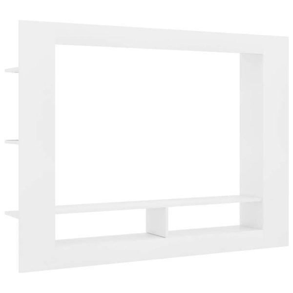 Vidaxl Tv-meubel 152x22x113 Cm Spaanplaat Wit