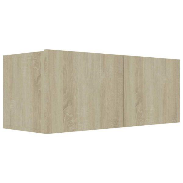 Vidaxl Tv-meubel 80x30x30 Cm Spaanplaat Sonoma Eikenkleurig