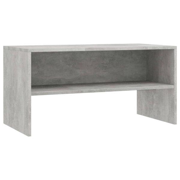 Vidaxl Tv-meubel 80x40x40 Cm Spaanplaat Betongrijs