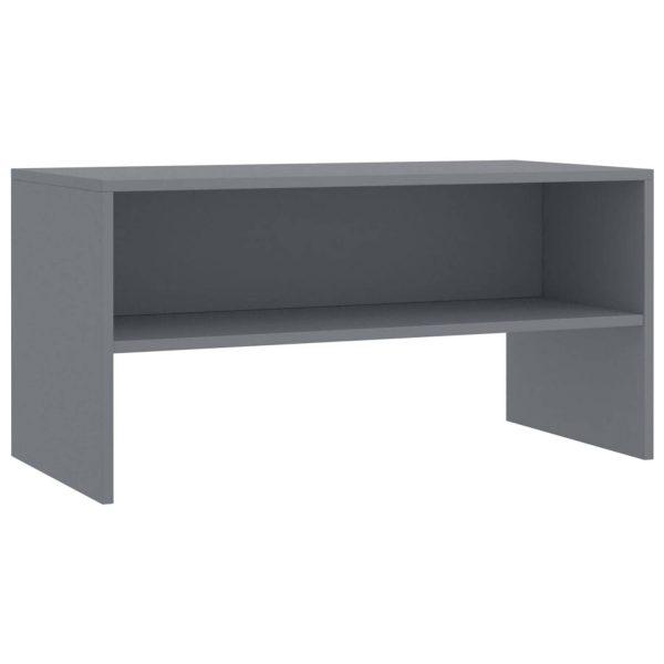 Vidaxl Tv-meubel 80x40x40 Cm Spaanplaat Grijs