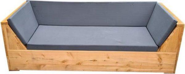 Wood4you - loungebank Phoenix Douglas 200Lx70Hx80D cm strak