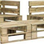 Medina 6-delige Loungeset pallet hout